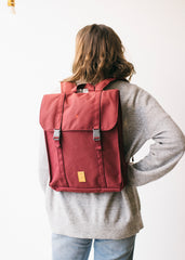 Eco Handy Backpack in Granate-Bag-Sancho's Dress