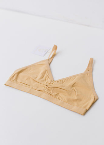 Almond Soft Bra Top-Brassier-Sancho's Dress