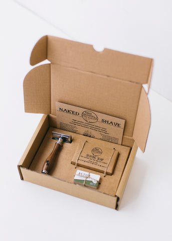 The Naked Shave Kit in Brown-Gifts-Sancho's Dress