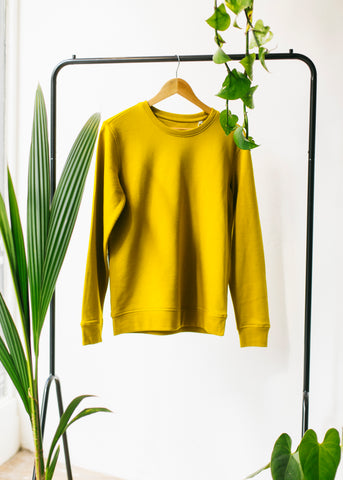 Rise in Mustard-Sweatshirt-Sancho's Dress