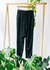 Aina Trousers in Black-Trousers-Sancho's Dress