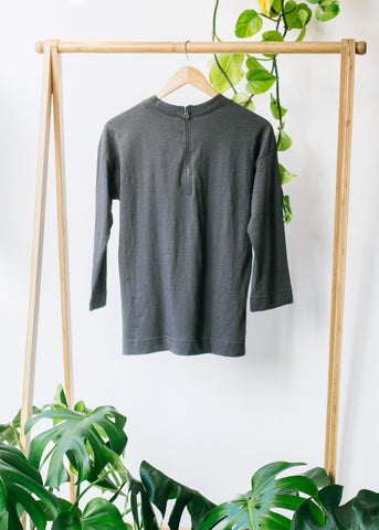 Lola Classic Boxy Tee in Grey-Top-Sancho's Dress