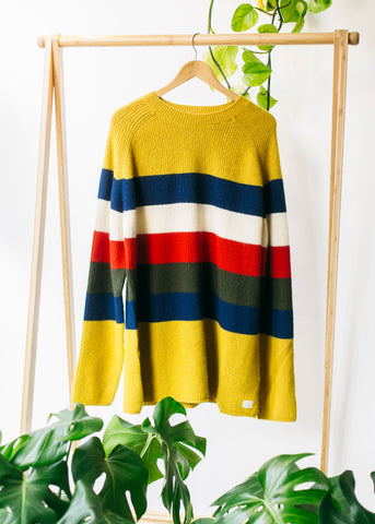 Benno Stripes in Yellow-Sweater-Sancho's Dress