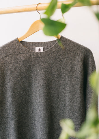 Beaufort Sweater in Grey-Sweater-Sancho's Dress