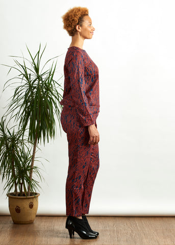 Aina Abstract Trousers-Trousers-Sancho's Dress