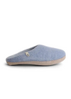 Egos Slippers in Light Blue