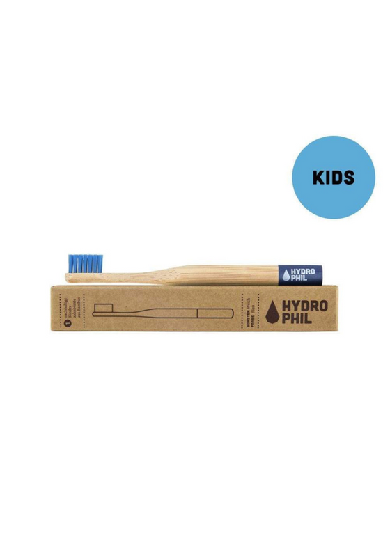 Eco Friendly Kids Toothbrush in Blue from Hydrophil