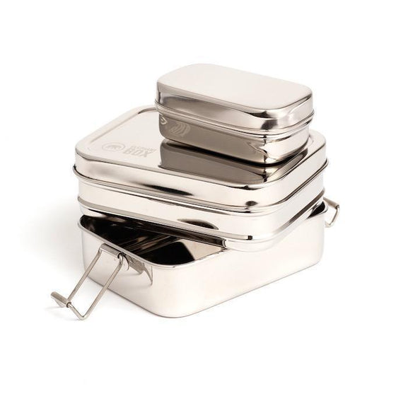 Sustainable Stainless Steel Lunch Box Container from Affordable Sancho's UK