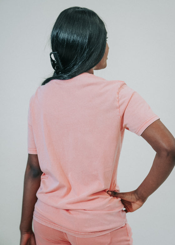 The Classic Crew Tee Bundle in Vintage Rose Clay