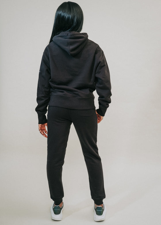 The Comfort Capsule in Black with Joggers