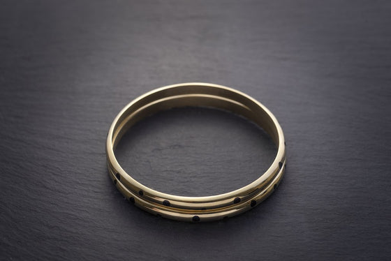 Ethical Recycled Brass Bracelet from Black-owned Affordable Sancho's Exeter