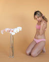 Maya Low Waist Undies in Pink