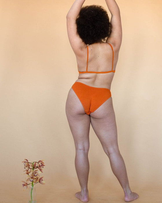 Maya Low Waist Undies in Pumpkin
