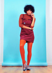 The Mini Pini' Dress in Maroon-Dress-Sancho's Dress