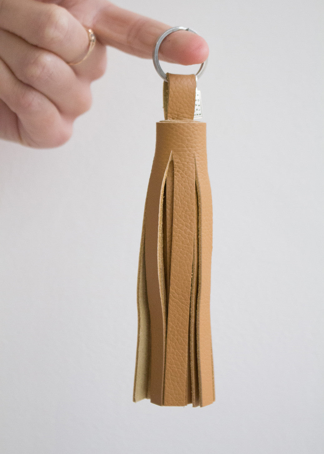 Ochre Tassell Keyring-Keychain-Sancho's Dress