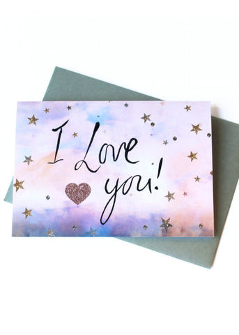 Stars I love You-Card-Sancho's Dress