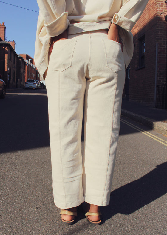 D-SIDE Organic Cotton Jeans Warm Sand