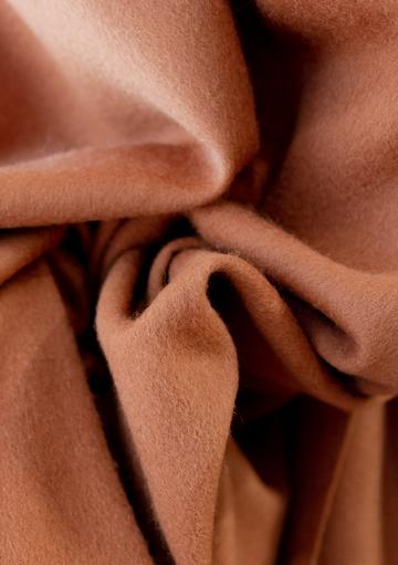 Oversized Scarf in Cinnamon