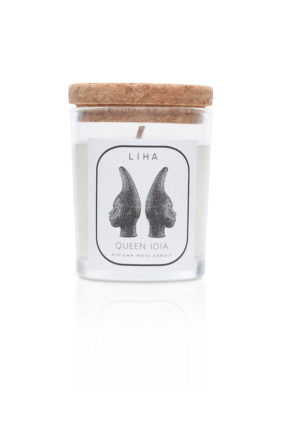 Sustainable Coconut Wax Queen Idia Candle Small from Liha Beauty