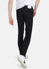 Organic Flex Classic Skinny Jeans in Jet Black-Jeans-Sancho's Dress