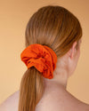 Malala Scrunchie in Pumpkin