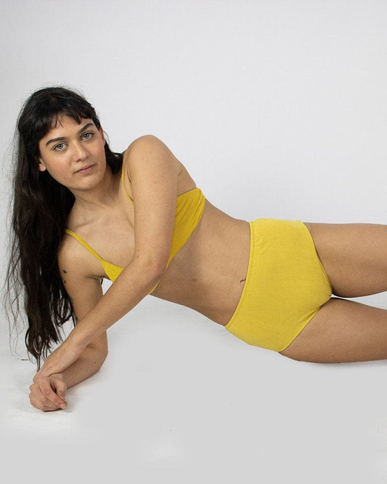 Lena High Waist Undies in Honey
