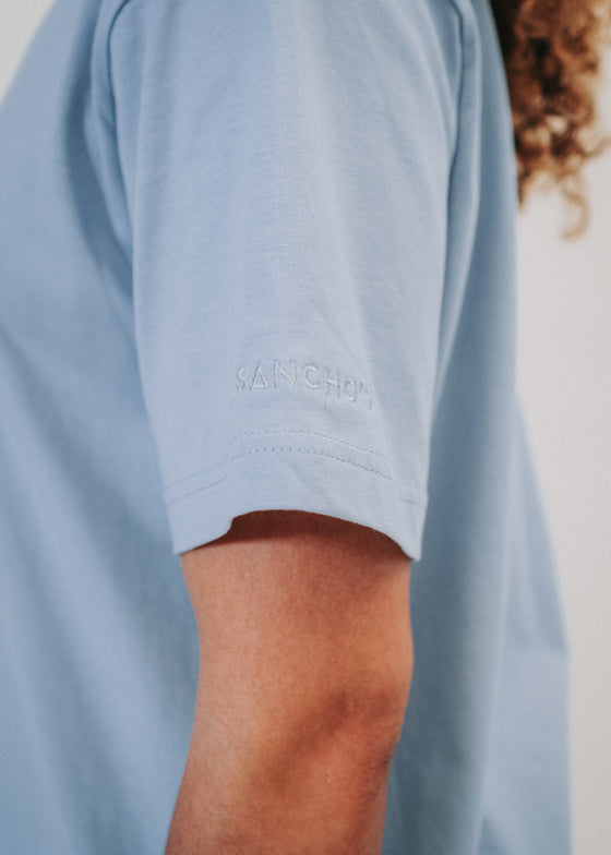 The Box Tee Bundle in Serene Blue