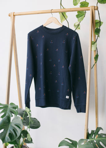 Ben Bikers in Dark Navy-Sweater-Sancho's Dress