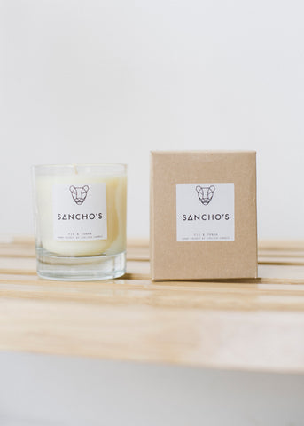 Fig & Tonka Large Candle-Candles-Sancho's Dress
