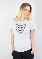 Lioness T Organic Cotton-T-Shirt-Sancho's Dress