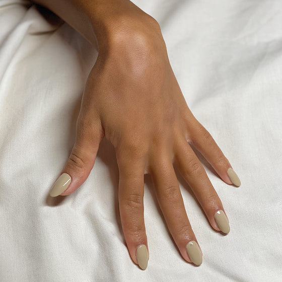 Palm Beige Nail Polish