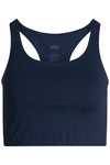 Girlfriend Paloma Sports Bra in Midnight