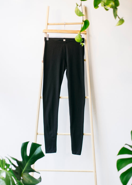 Organic Cotton Black Leggings from People Tree