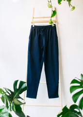 Sasha Trousers in Navy-Trousers-Sancho's Dress