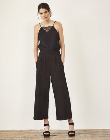 Hackney Jumpsuit in Black-Jumpsuit-Sancho's Dress