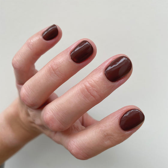 Roast Burgundy Nail Polish