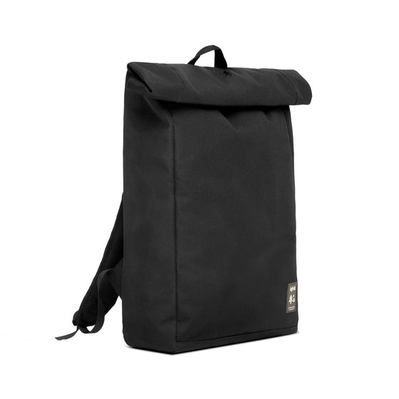 Eco Roll Backpack in Black-Bag-Sancho's Dress