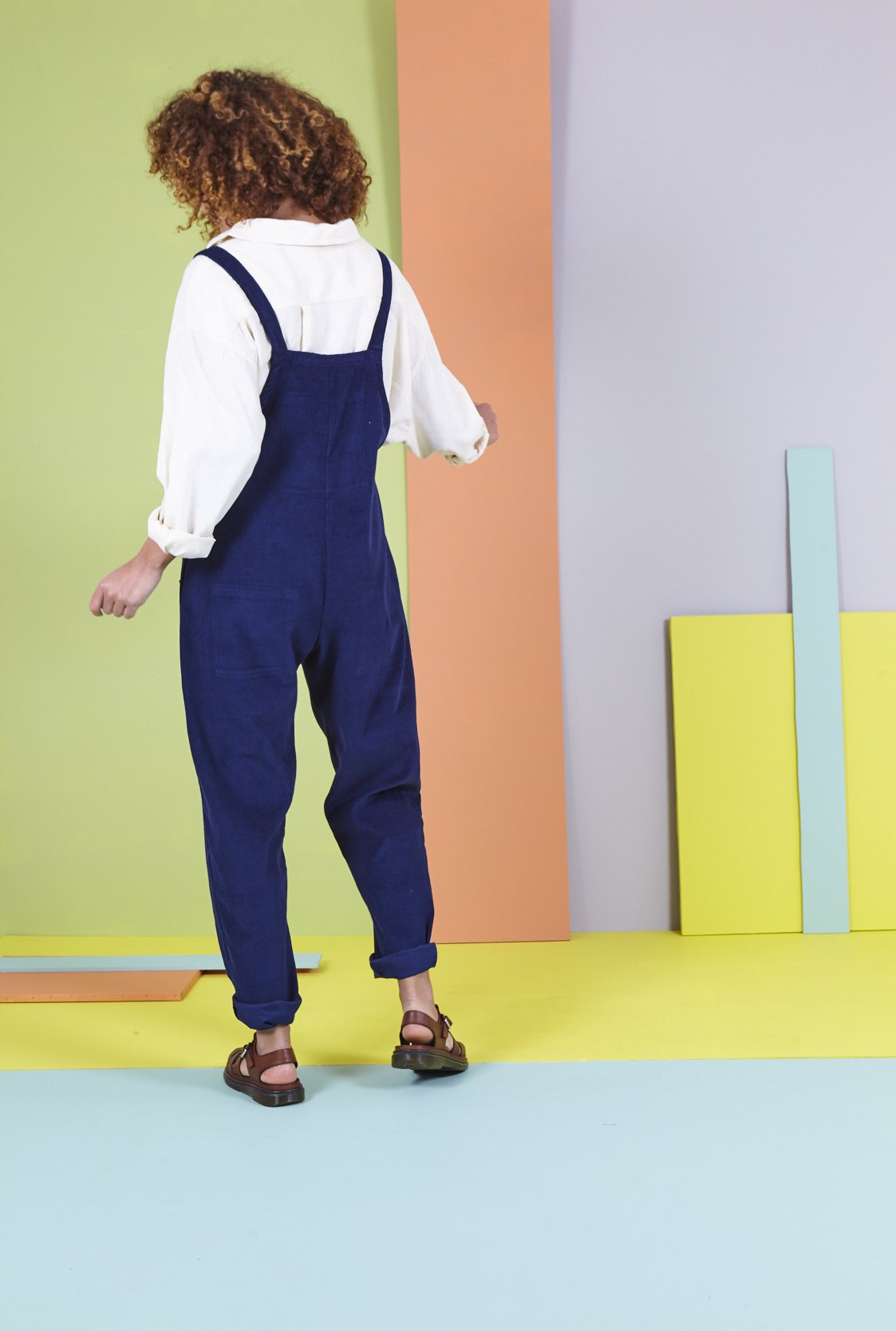Organic Originals in Sailor Blue-Dungarees-Sancho's Dress