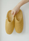 Egos Slippers in Mustard