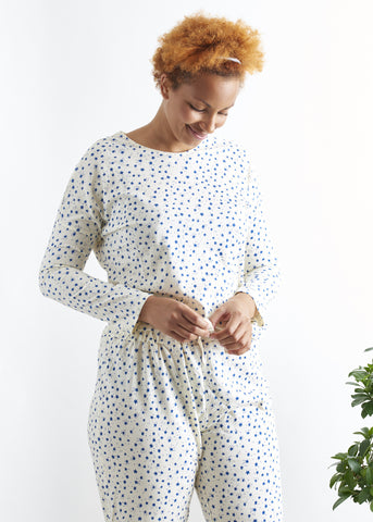 Stars Pyjama Long Sleeve Top-Nightwear-Sancho's Dress