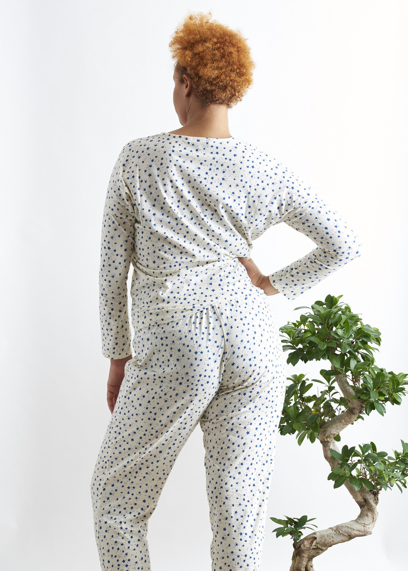 Stars Pyjama Trousers-Nightwear-Sancho's Dress