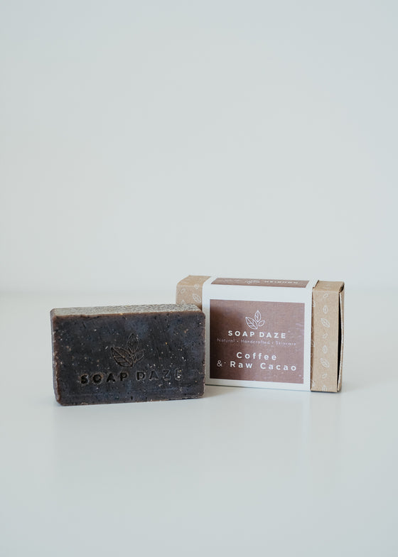 Coffee & Raw Cacao Vegan Soap