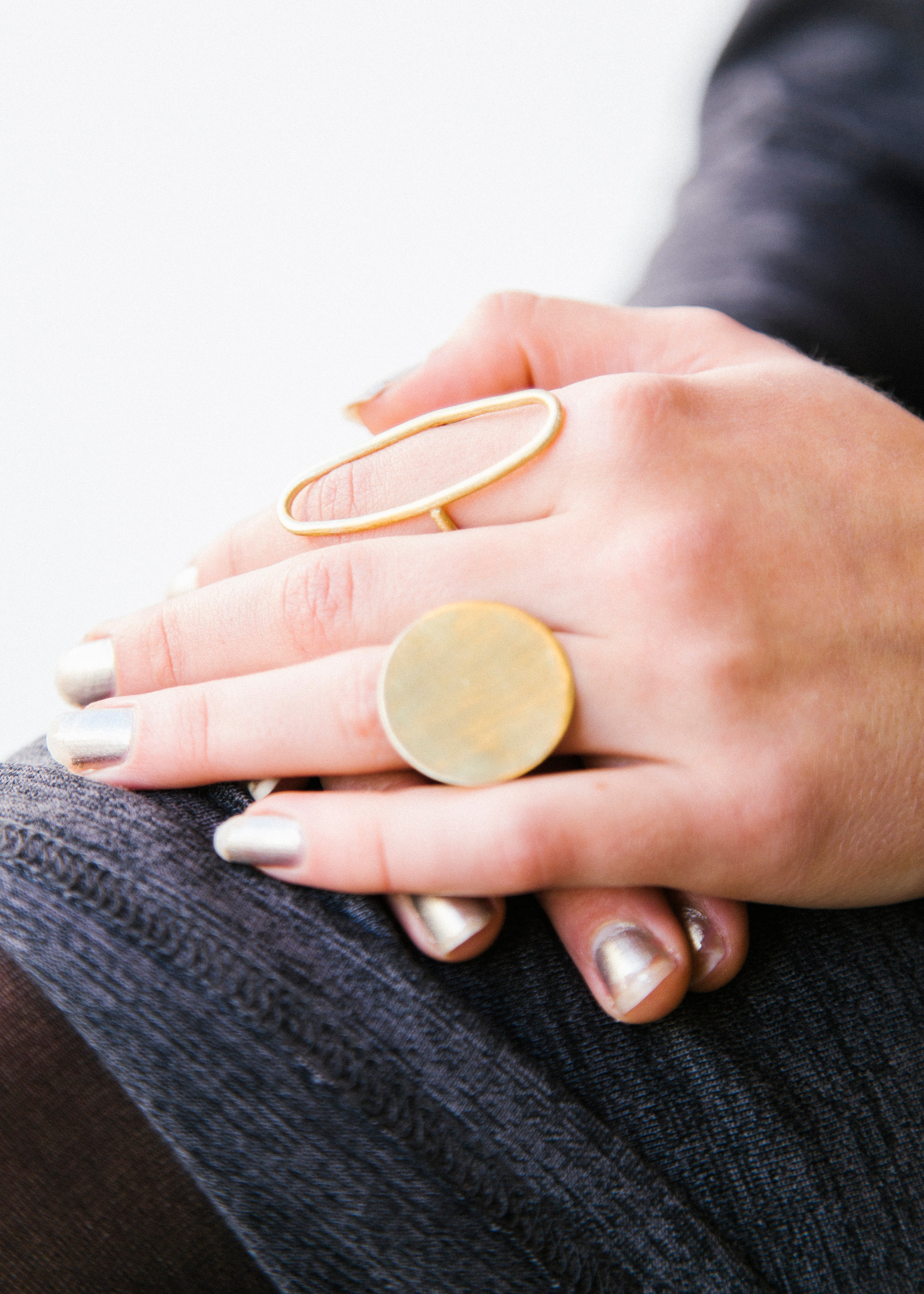 Statement Pebble Ring-Rings-Sancho's Dress