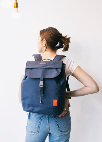 Scout Backpack in Night Blue-Bag-Sancho's Dress