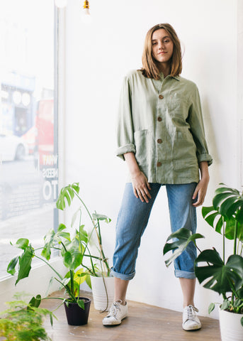 Marli Jacket in Sage-Jacket-Sancho's Dress