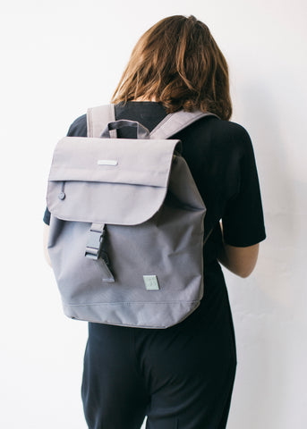 Small Scout Backpack in Grey-Bag-Sancho's Dress