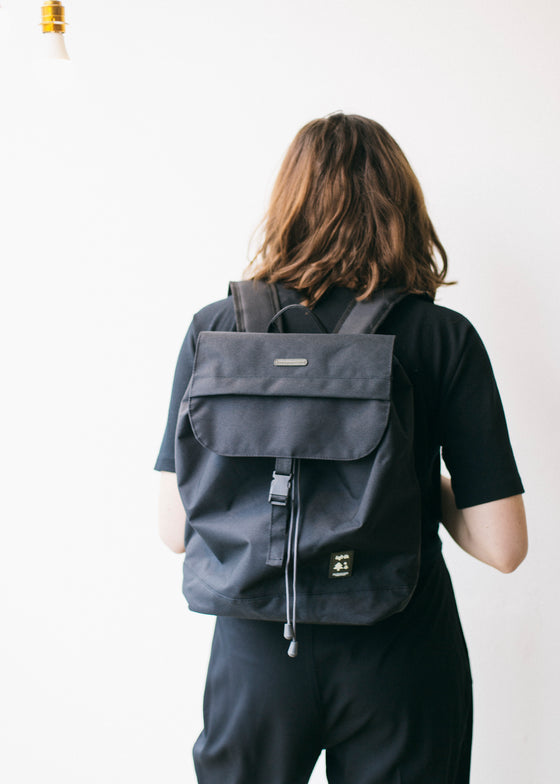 Small Scout Backpack in Black-Bag-Sancho's Dress