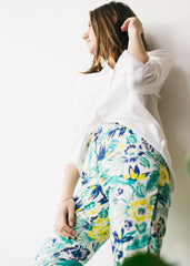 Candice Tropical Trousers-Trousers-Sancho's Dress