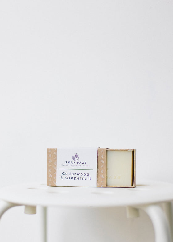 Cedarwood & Grapefruit Vegan Soap-Soap-Sancho's Dress