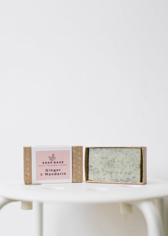 Ginger & Mandarin Vegan Soap-Soap-Sancho's Dress